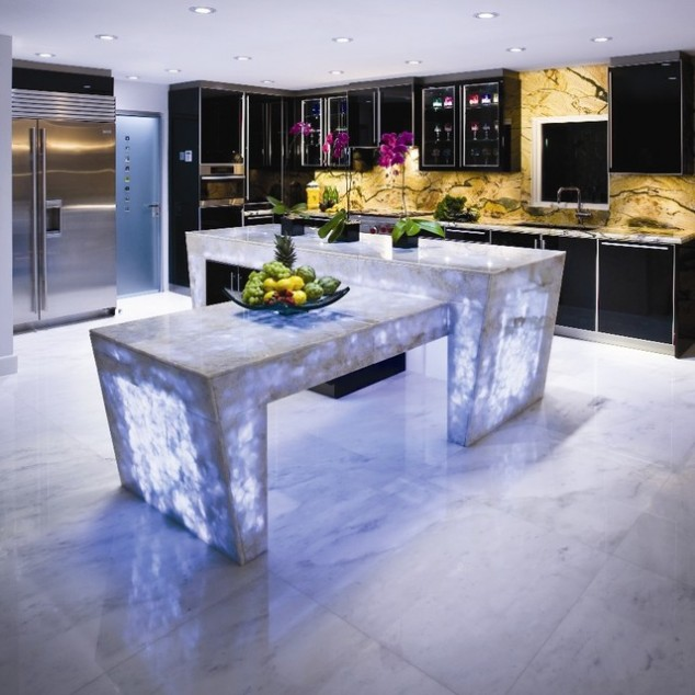 White-modern-kitchen-countertops