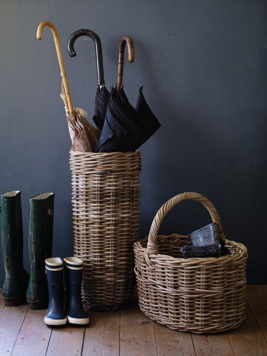15+ Awesome Ways to Incorporate Wicker Baskets in Your Interior