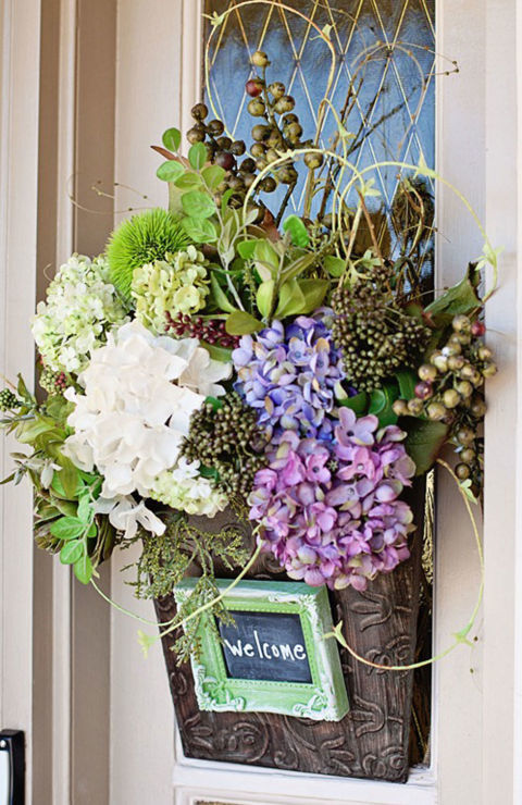 DIY Wreath Ideas For This Spring
