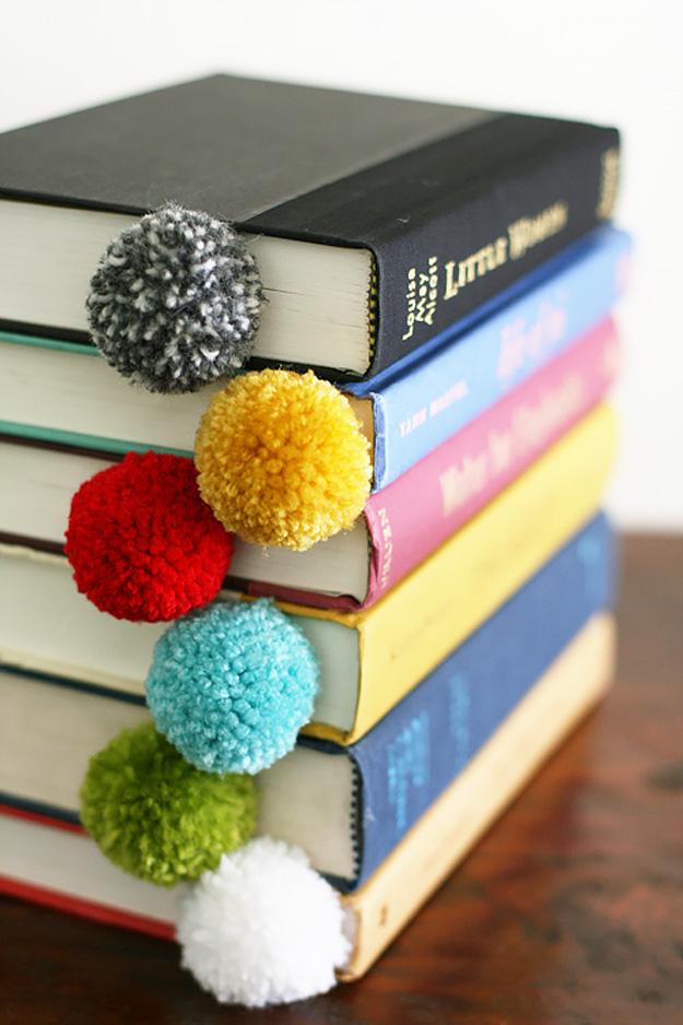 Yarn Ball Bookmarks