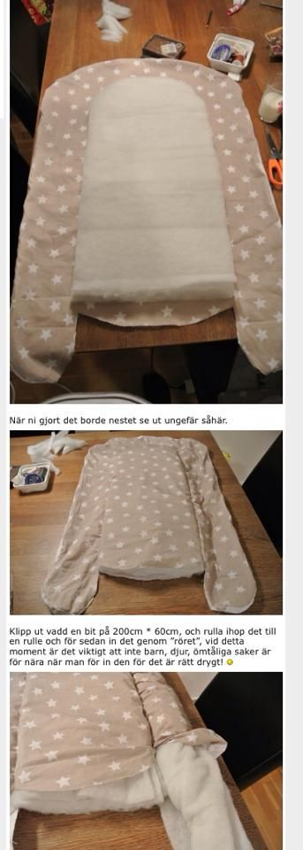 How to Make a Babys Nest Step by Step