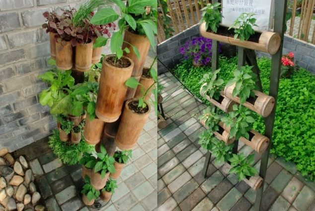 15+ Fantastic DIY Bamboo Creatively For Your Garden