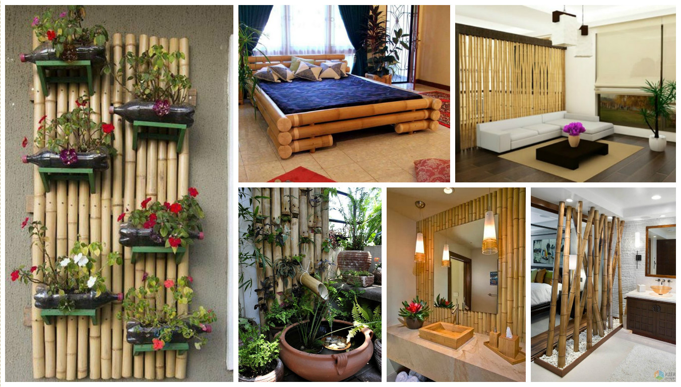 Bamboo tree decorations for home decor for Home dekoration
