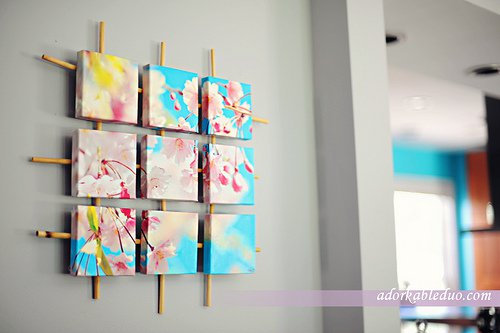 Awesome Asian Vibe With DIY Bamboo Wall Decor