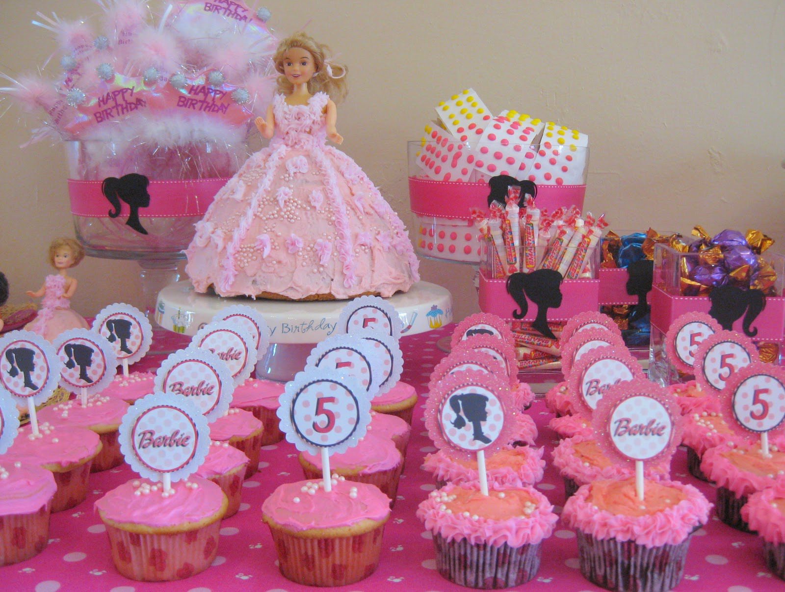 barbie party cakes