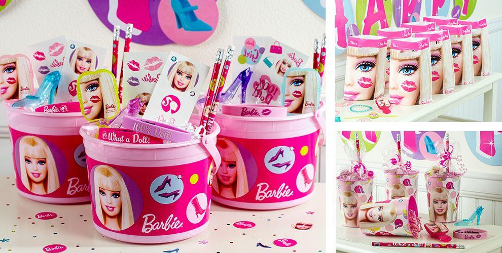 barbie party favors