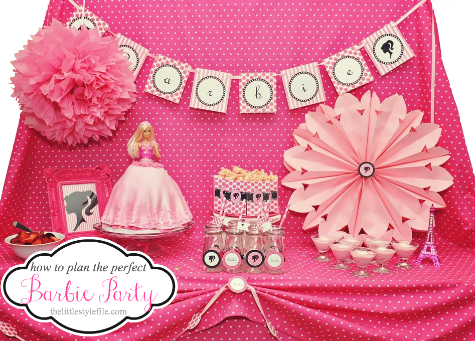 3 essential guidelines for celebrating your barbie party for Decoration barbie