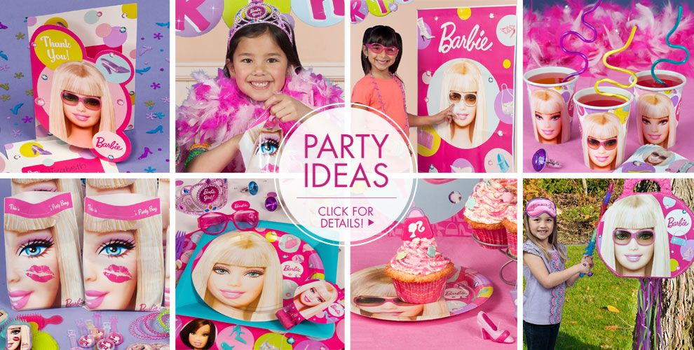 barby party ideas