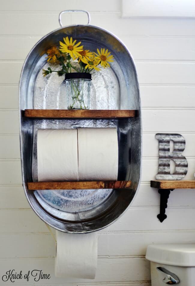 bathroom shelf ideas 23