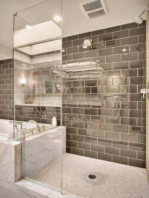 Wonderful & Cool Bathroom Tiles