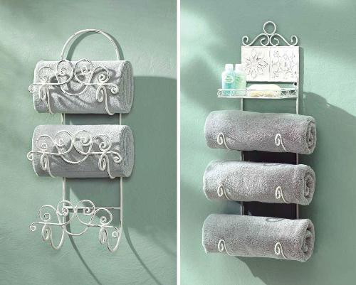 15+ Creative Bathroom Towel Storage