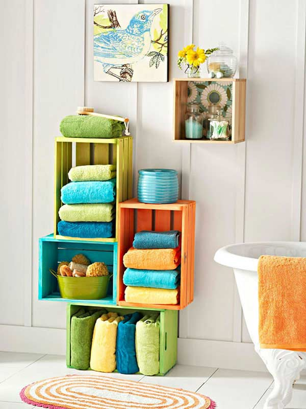 bathroom towel storage 7