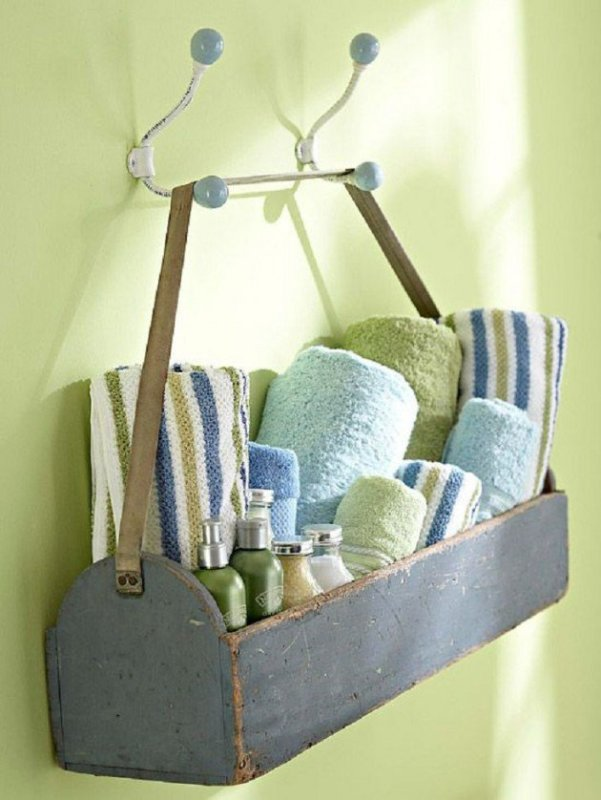 15+ Fantastic Bathroom Towel Storage Ideas