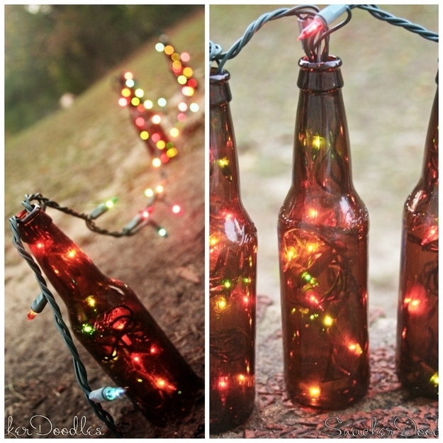 15+ Creative DIY Beer Bottles Crafts