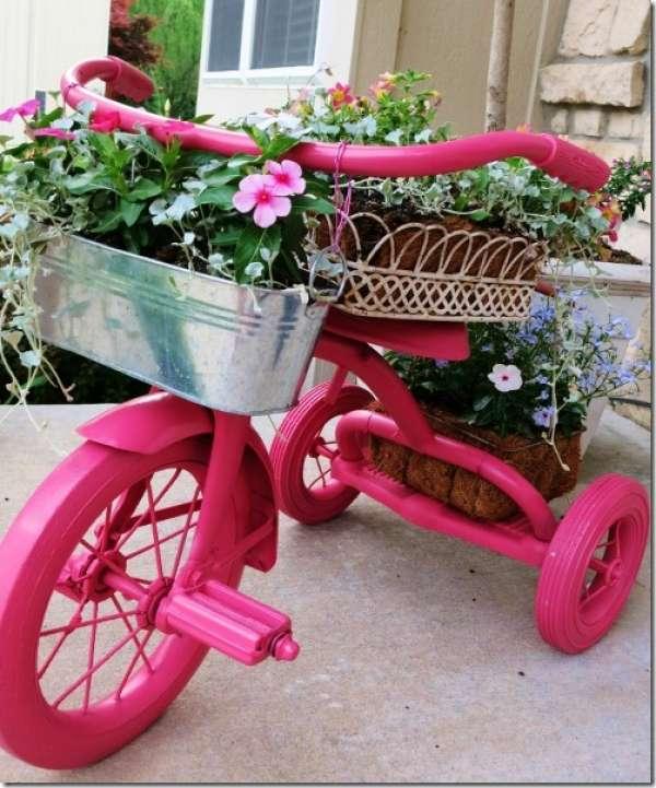 15+ Wonderfull Bike Reuse Ideas