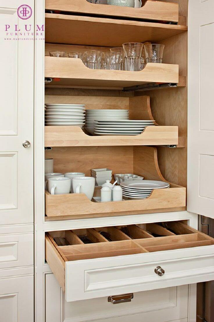25+ Fabulous Built in Storage Ideas to Maximize Your Living Space