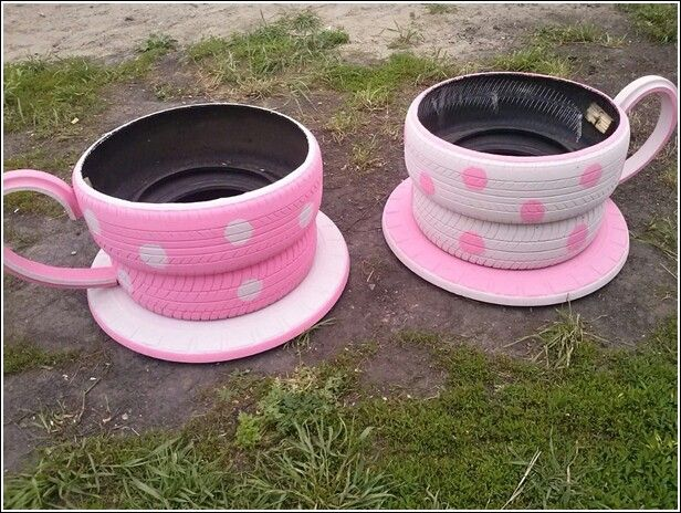 car tire crafts 14