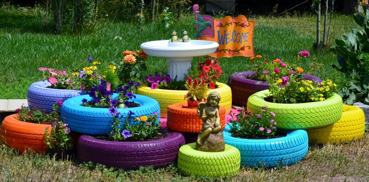15 Superb Car Tire Crafts For Your Home And Garden