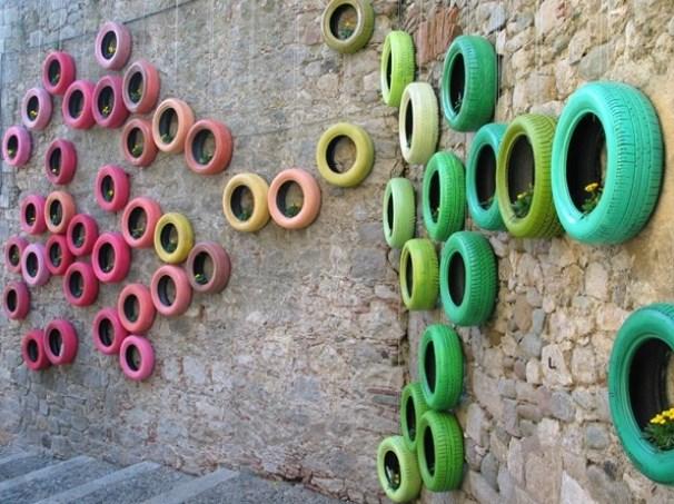 car tire crafts 2
