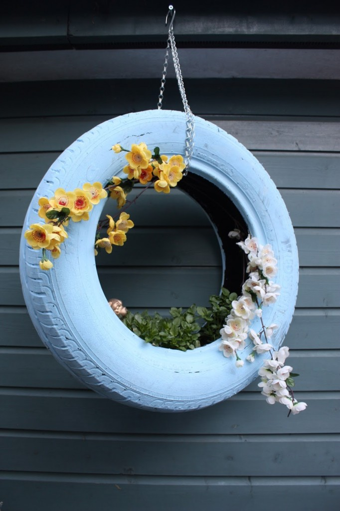 car tire crafts 6