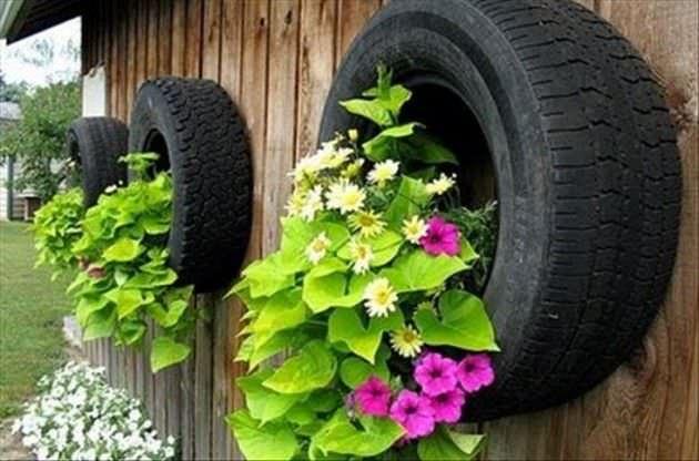 car tire crafts 8