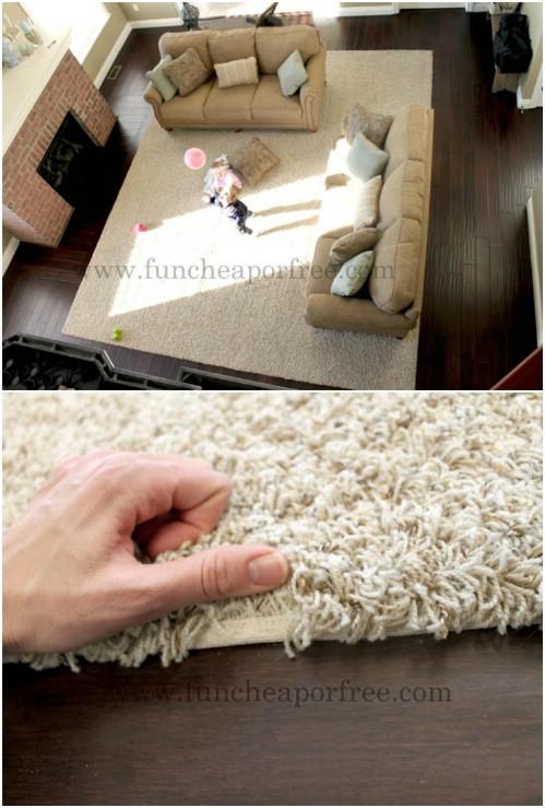 15+ Brilliant Carpet Repurposing Ideas
