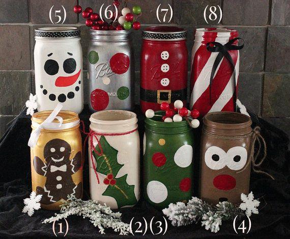 15 Diy Christmas Mason Jars