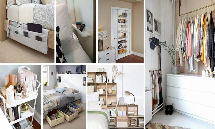 15+ Quick And Easy Organization Ideas To Get Your Bedroom