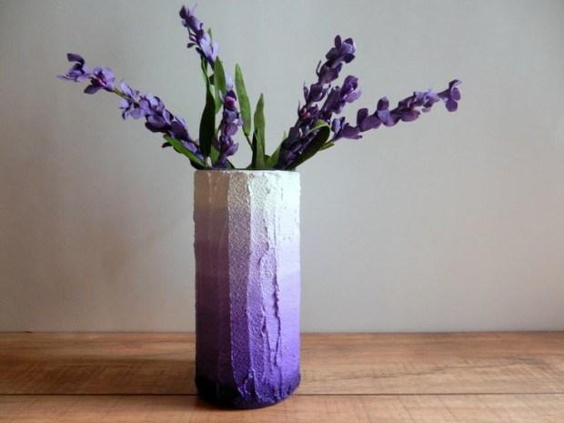 concrete flower vase 12