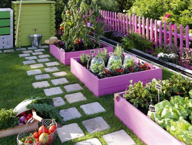 15+ Modern and Cool Raised Garden Bed Ideas
