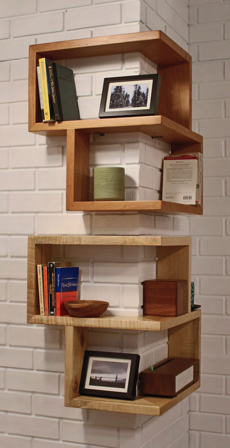 15+ Fascinating Corner Shelves
