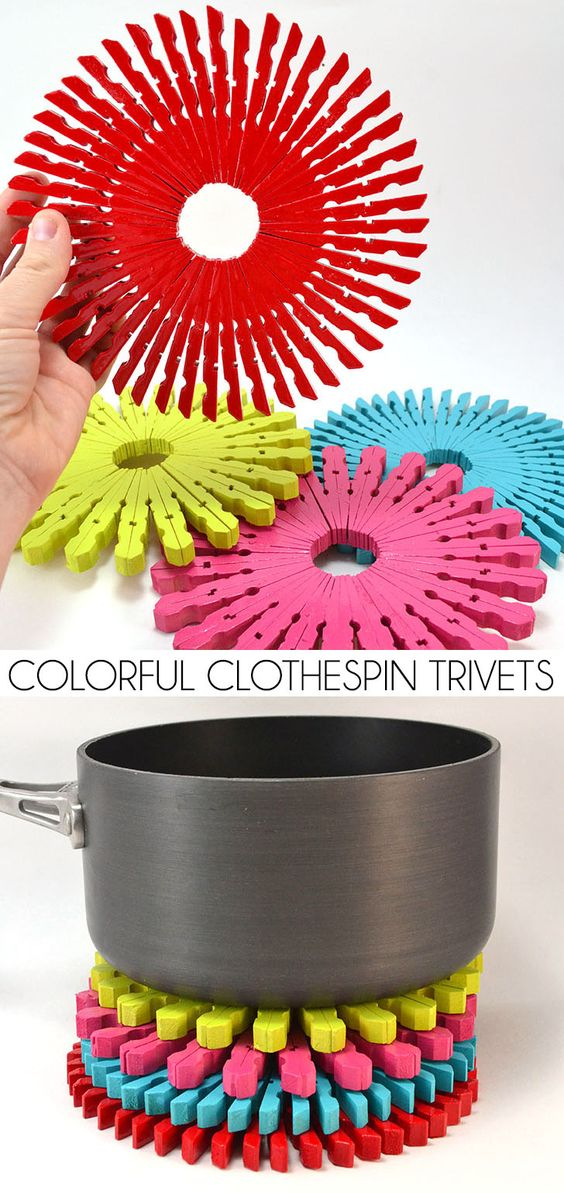 20+ Super Ingenious DIY Clothespin Crafts