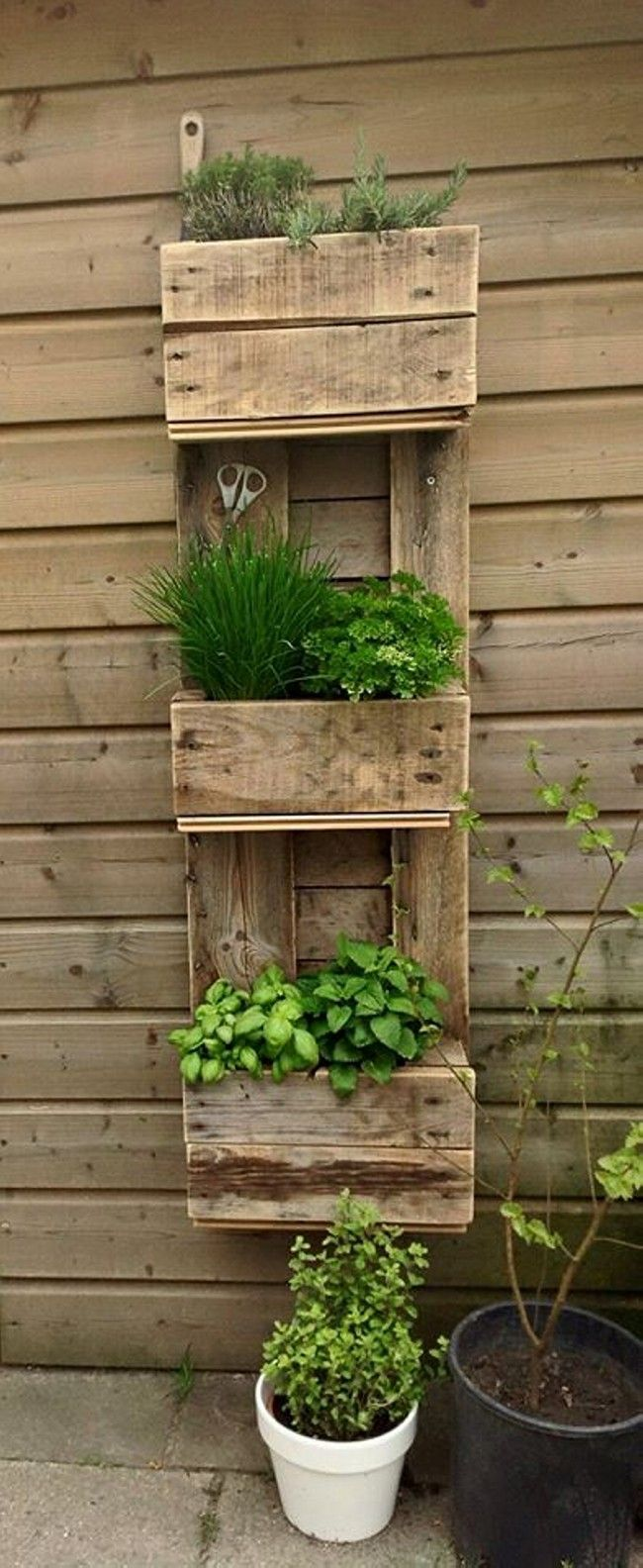 creative vertical planter 6