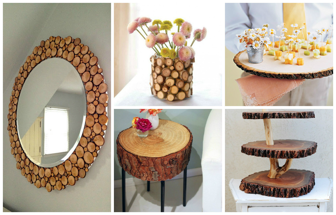 10 creative wooden decorations - Manualidades faciles de hacer en casa ...