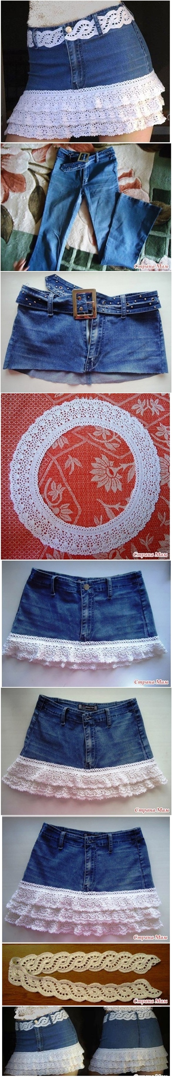 crochet-fringed-jean-skirt