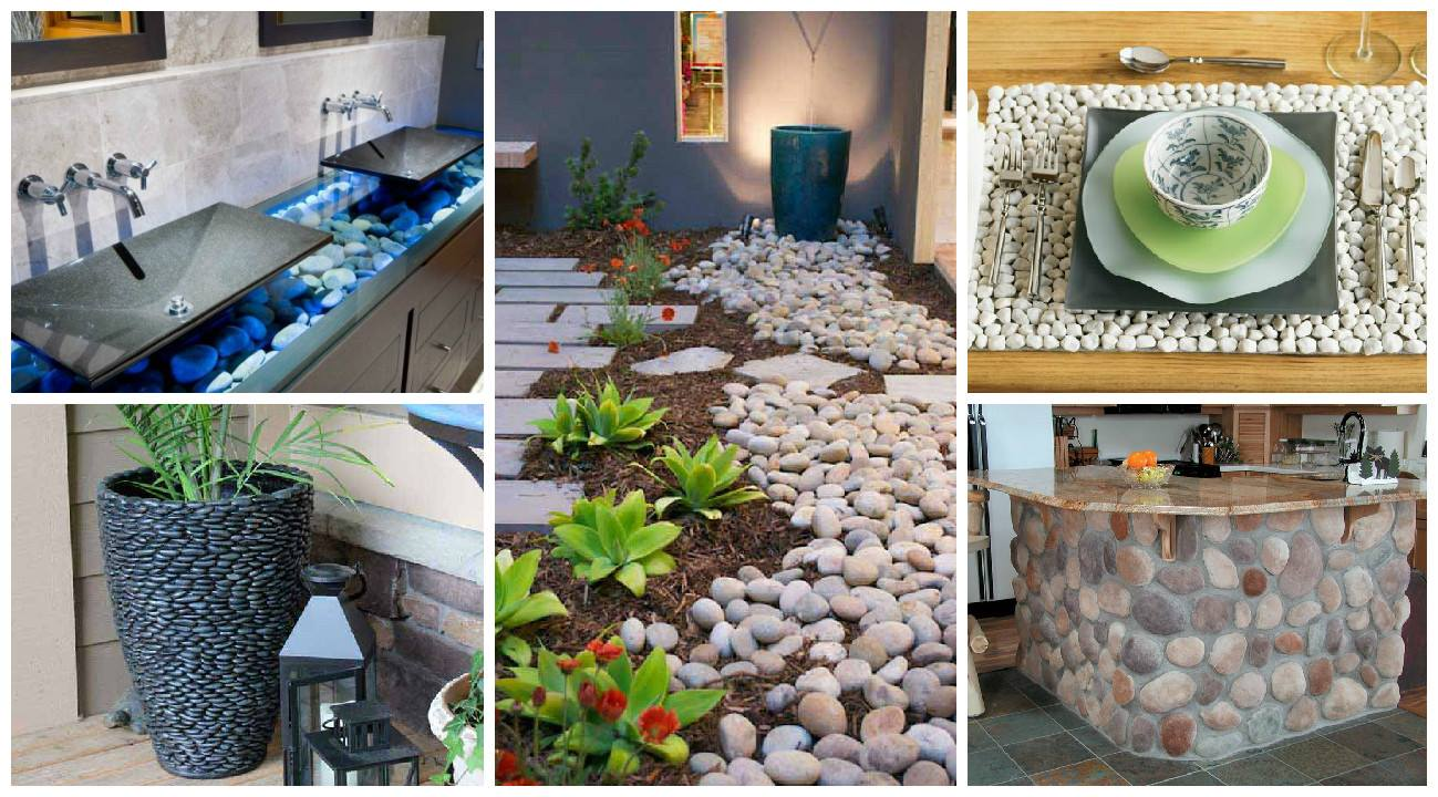 15 Creative Ideas For Rocks Decorated Home