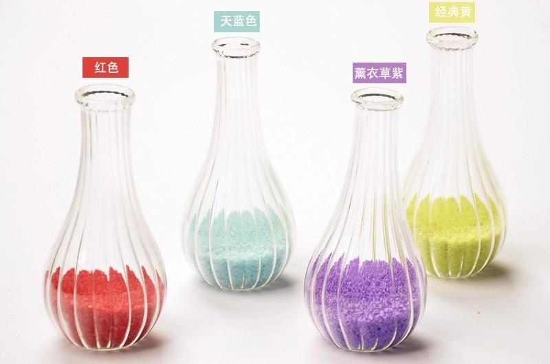 decor vase using colored sand 13