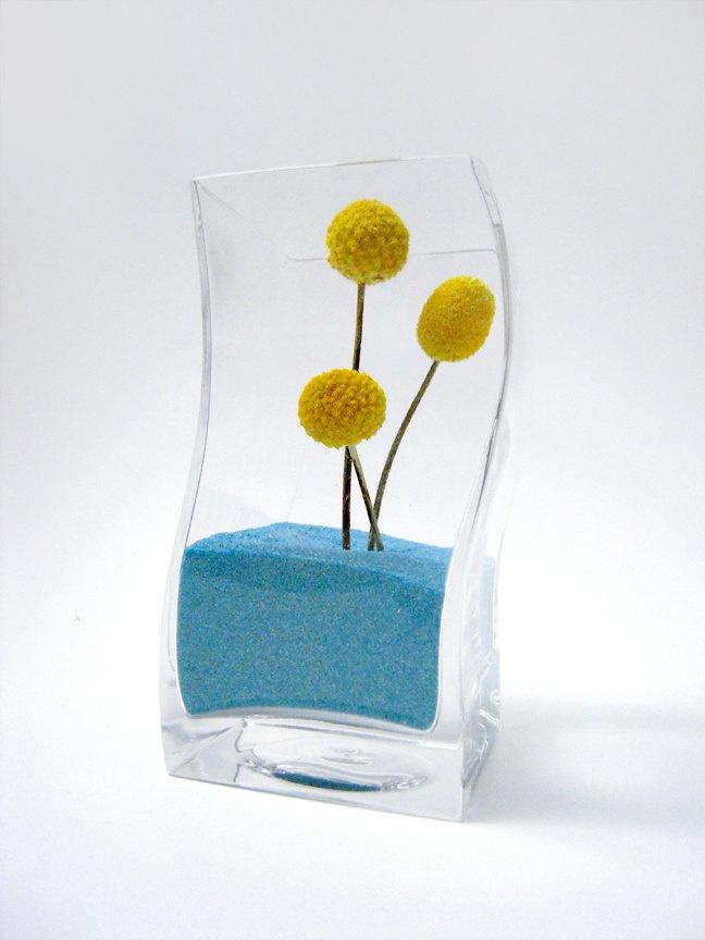 decor vase using colored sand 14