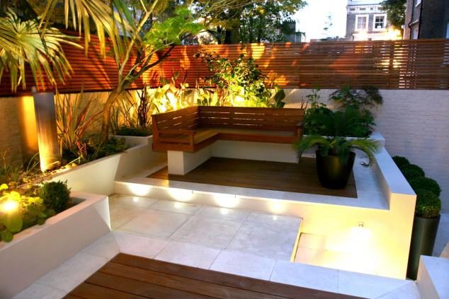 designs for small gardens