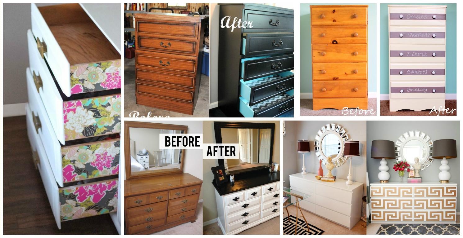 15+ DIY Dresser Makeovers