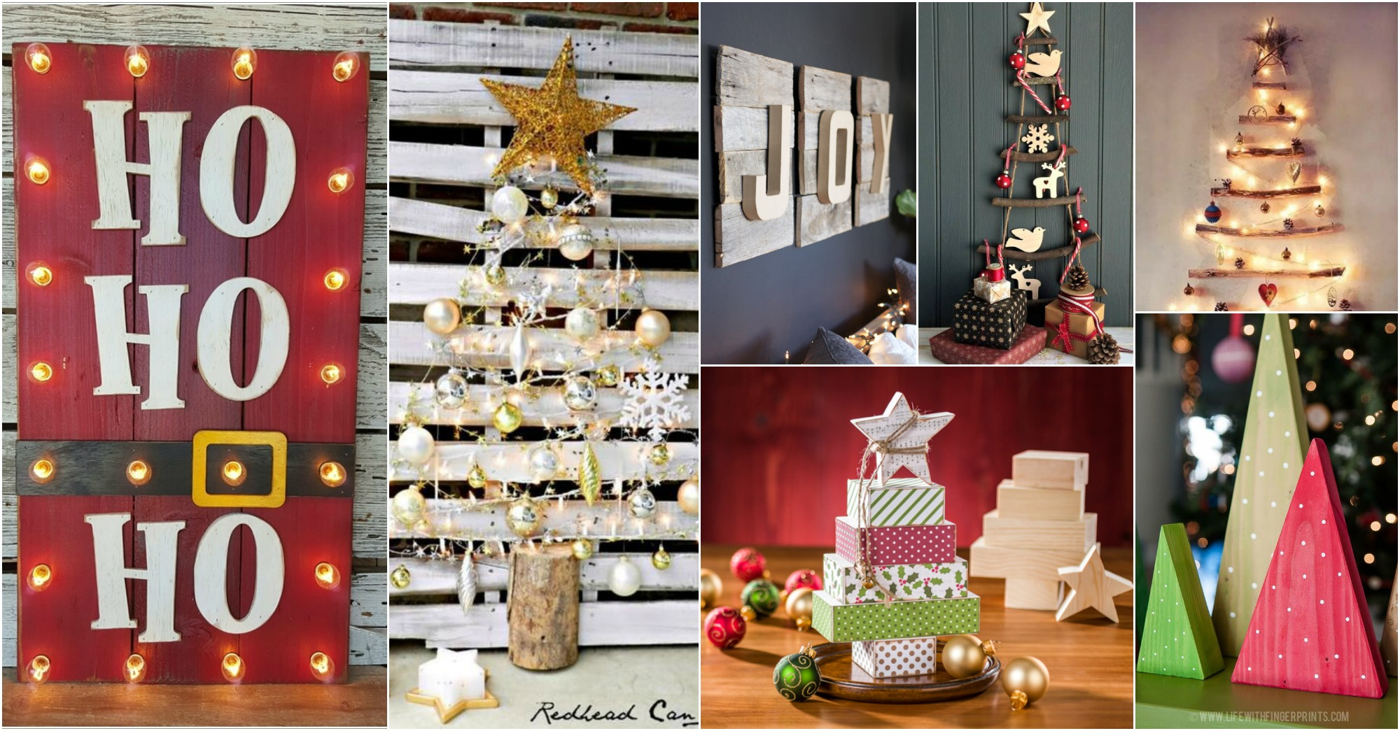 15 diy christmas wood crafts for Wood crafts to make for christmas