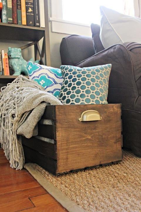 10 fantastic diy crate furniture designs for Crate design furniture