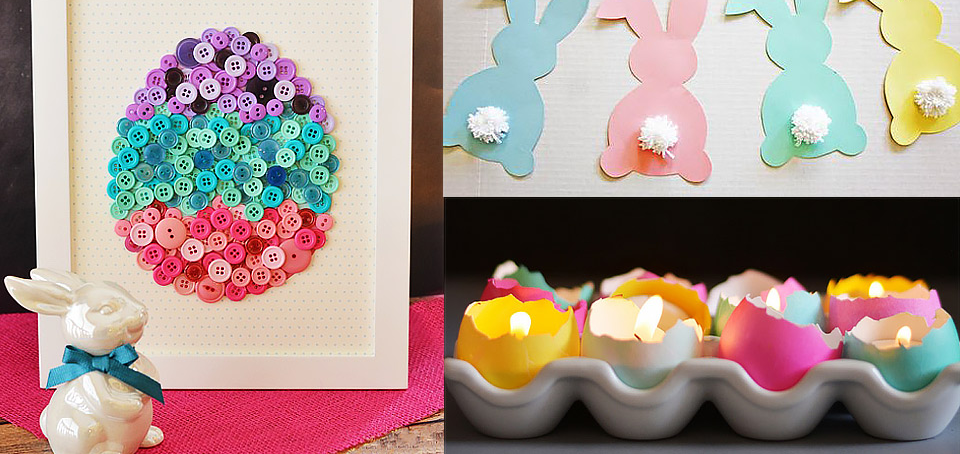 20 Diy Easter Decorations: images for easter decorations