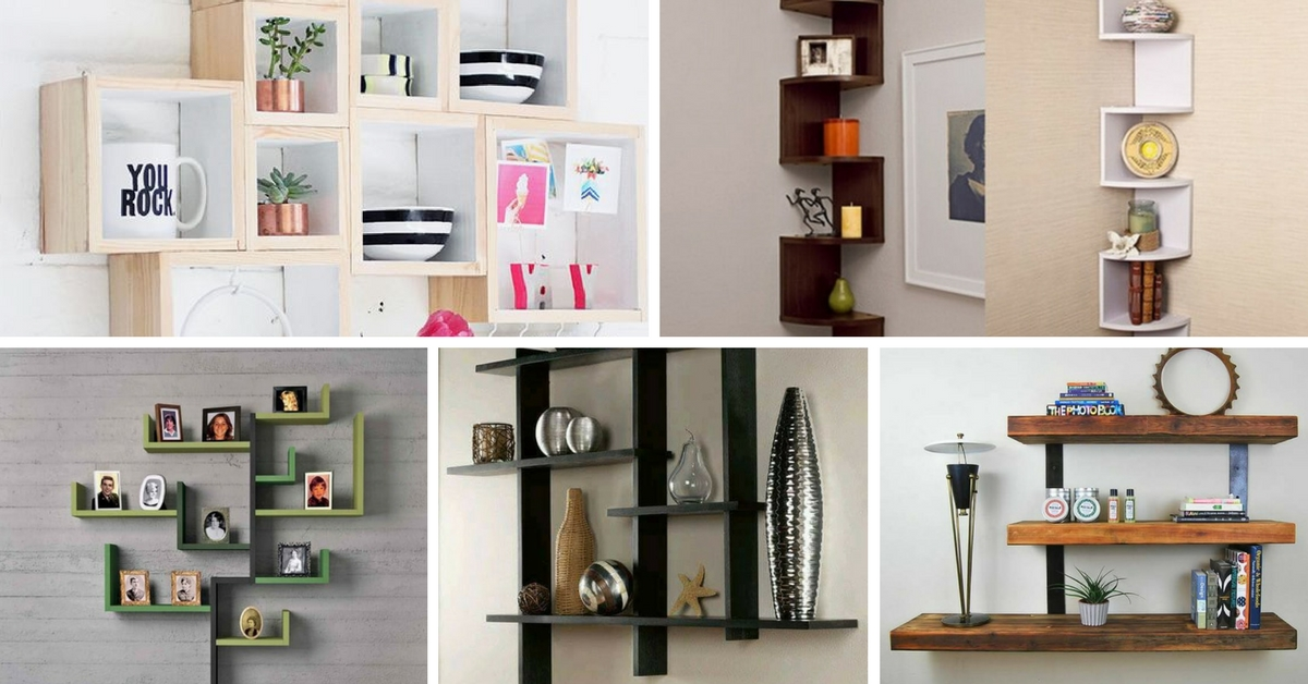 15+ DIY Functional & Stylish Wall Shelves For Interior