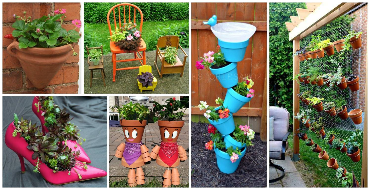 15 awesome diy projects for your garden for Diy garden crafts