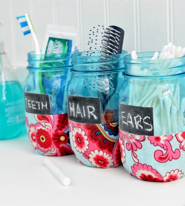 diy jar organization 1