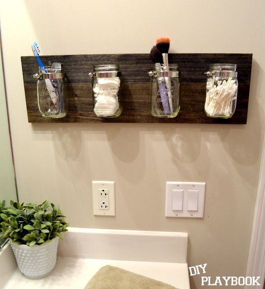 15+ Awesome DIY Jar Organization Ideas