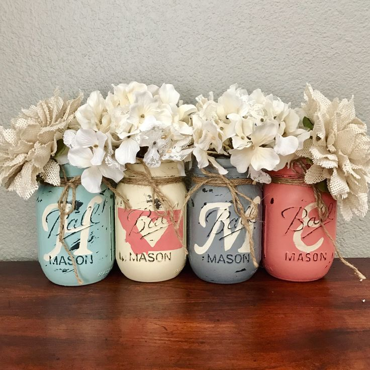 Diy Mason Jar Design Decorating Ideas: 15+ Awesome DIY Jar Organization Ideas
