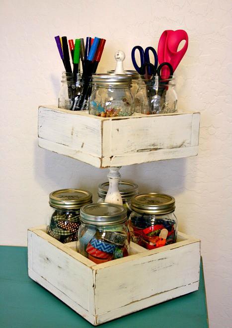 15+ Awesome DIY Jar Organization Ideas