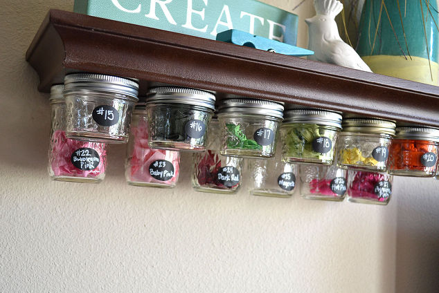 diy jar organization 8
